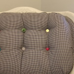 How to: Replace Buttons on a Tufted Chair