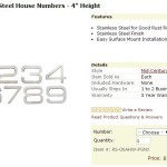 Who Knew Finding the Perfect House Number Could be so Difficult